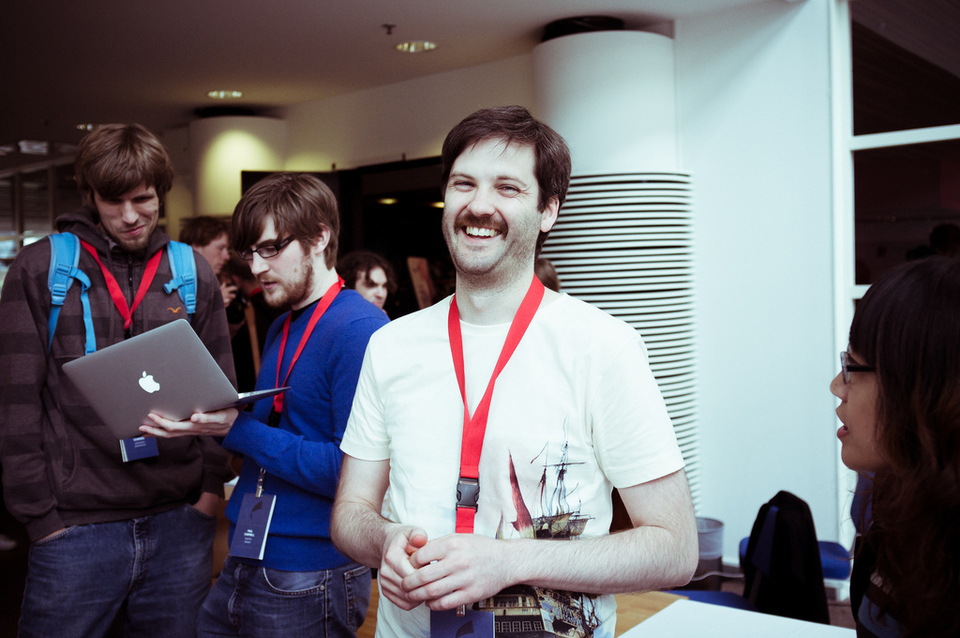 Aaron Patterson at Nordic Ruby 2011