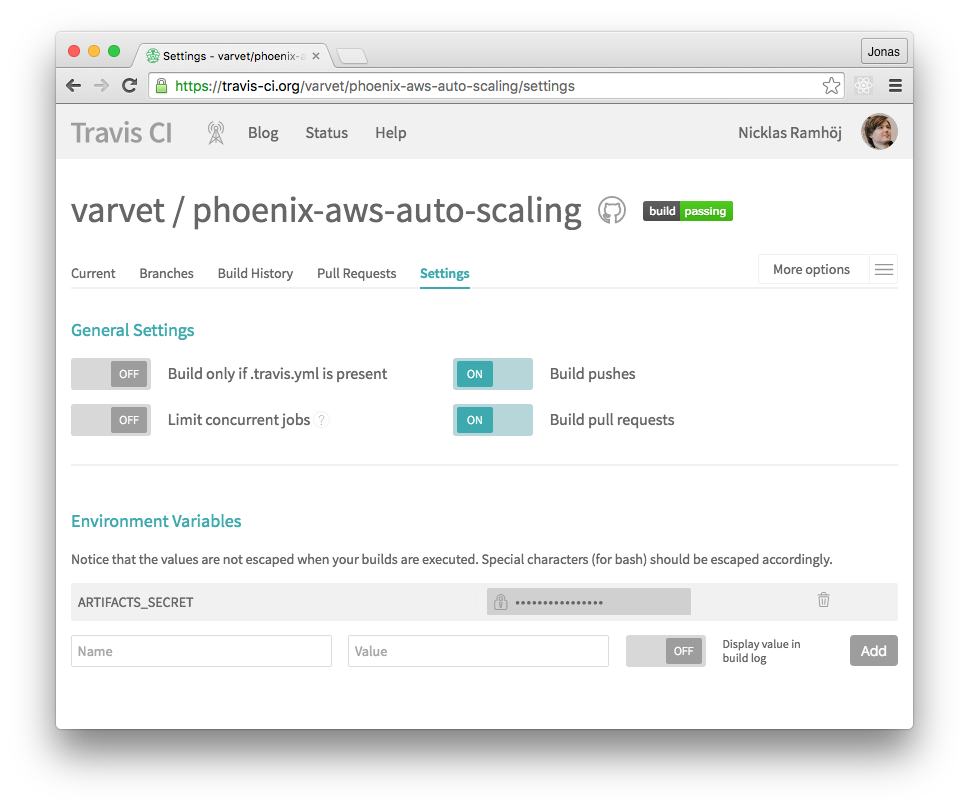 Easy Elixir auto scaling deployment with AWS and Travis CI